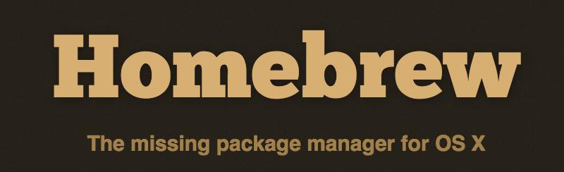 개발자를 위한 맥(Mac) 정보 – 패키지관리자 Homebrew
