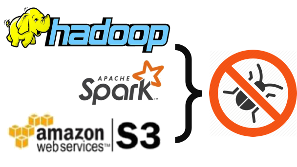 Hadoop, Spark S3 사용시 Bad type on operand stack Error