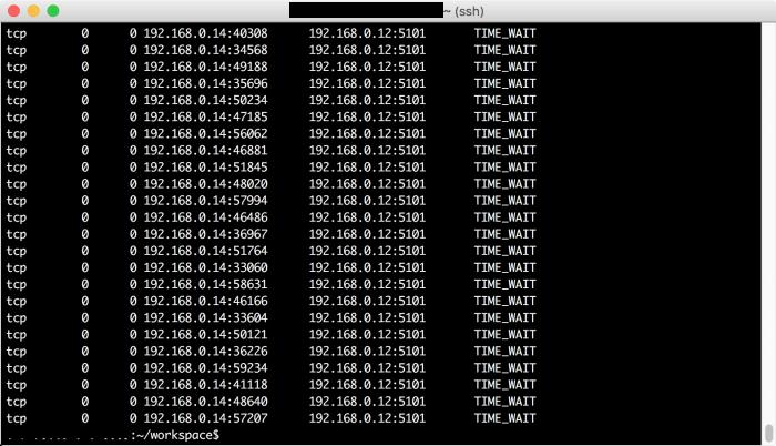 마이크로 서비스와 TIME_WAIT 문제
