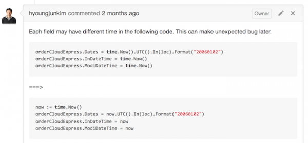 code_review_use_same_time