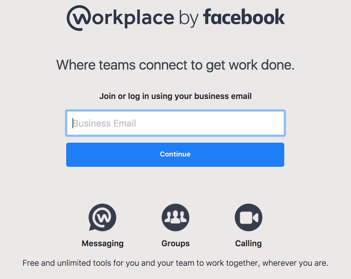 페이스북이 내놓은 협업 도구 Workplace 체험기