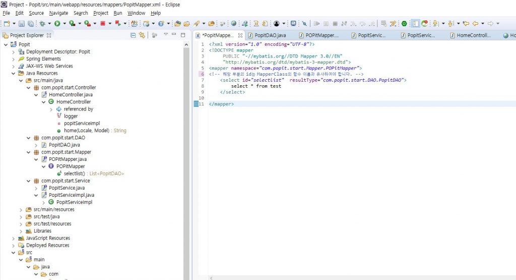 신입 개발자 & 학생을 위한 Spring MVC Setting ( 2편 ) | Popit