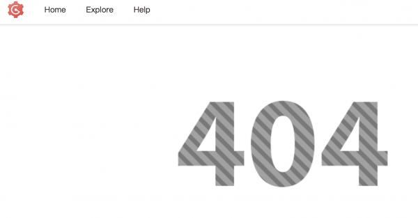 Go 로 만들어진 코드 형상관리시스템에서 발생한 404 오류